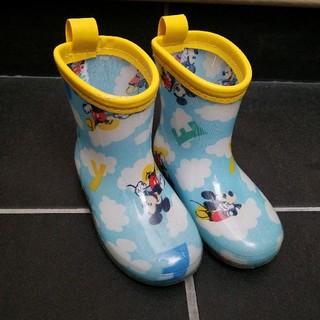 ディズニー(Disney)の⭐ミッキー長靴⭐14センチ(長靴/レインシューズ)