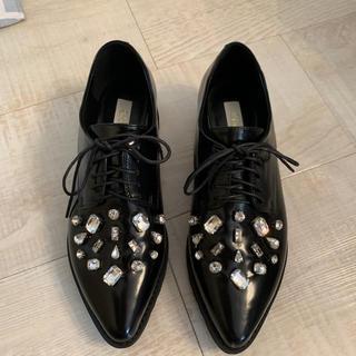 チェスティ(Chesty)のchesty ビジュー オックスフォード シューズ(ローファー/革靴)