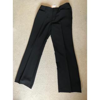 シマムラ(しまむら)の新品未使用タグ付き✴︎ パンツ 黒 スラックス ビジネススーツ(スーツ)