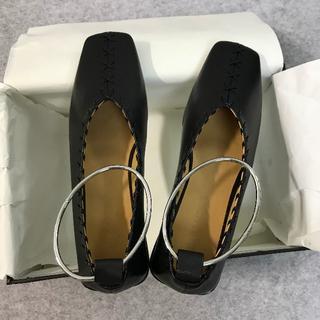 ジルサンダー(Jil Sander)の値下げ 新作 Jil sander 靴 パンプス 黒 サイズ36(ハイヒール/パンプス)