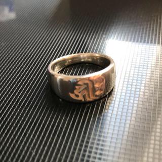 訳ありシルバー925  梵字リング(リング(指輪))