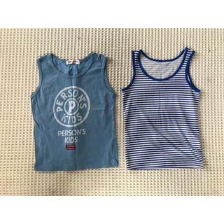パーソンズキッズ(PERSON'S KIDS)のユニクロ エアリズム タンクトップ 100 パーソンズ タンクトップ 95(Tシャツ/カットソー)