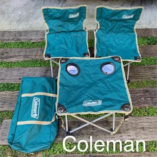 コールマン(Coleman)のColeman コールマン テーブル&チェア二脚 アウトドア キャンプ 椅子(テーブル/チェア)