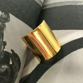 セリーヌ(celine)のCeline指輪セリーヌ ワイドリング ファション 8(リング(指輪))