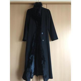 アンディ(Andy)のフォックスの毛皮付きコート(ロングコート)