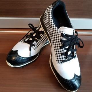 アディダス(adidas)のadidas FitFOAM ゴルフシューズ レディース 24.5cm(シューズ)