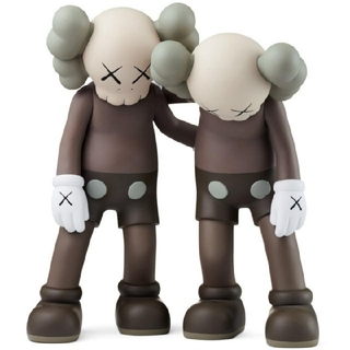 MEDICOM TOY - 【最安値】KAWS ALONG THE WAY BROWN