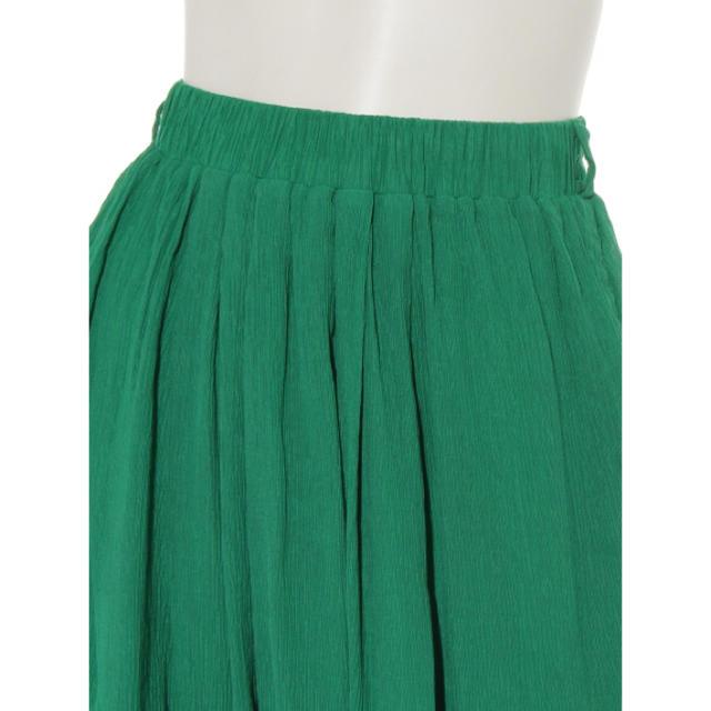 DOUBLE NAME(ダブルネーム)の新品♡定価6370円 ティアードロングスカート ベージュorグリーン レディースのスカート(ロングスカート)の商品写真