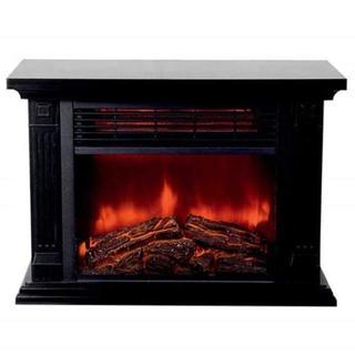 【在庫わずか】おしゃれな暖炉型ファンヒーター クリスマスにも (ファンヒーター)