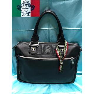 オロビアンコ(Orobianco)のOROBIANCO ビジネスバッグ ブラック 黒 ハンドバッグ トートバッグ(ビジネスバッグ)