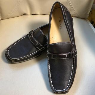 リーガル(REGAL)の【新品】REGAL レディースシューズ(size24.5)(ローファー/革靴)
