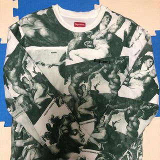 シュプリーム(Supreme)の  Supreme ミケランジェロ ロンT 緑 S(Tシャツ/カットソー(七分/長袖))