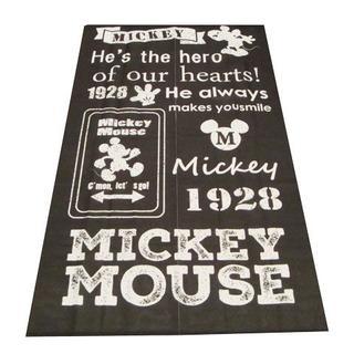ディズニー(Disney)の送料無料【新品 】ディズニーのれん【 ミッキー BK】丈150cm(のれん)