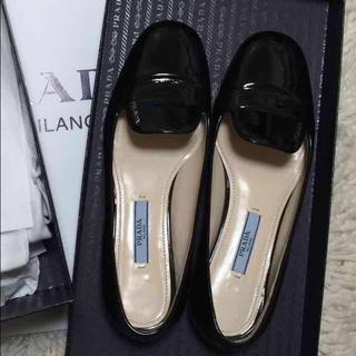 プラダ(PRADA)のプラダ PRADA フラットシューズ(ローファー/革靴)