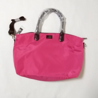 ハマノヒカクコウゲイ(濱野皮革工芸)のハマノ ツーウェイトートバッグ ピンク(トートバッグ)