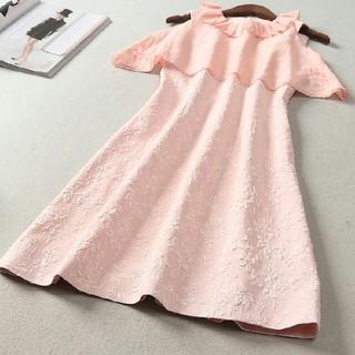 ドレス 長袖 春コーデ 快適 女性 通勤 LL0407063(ロングドレス)