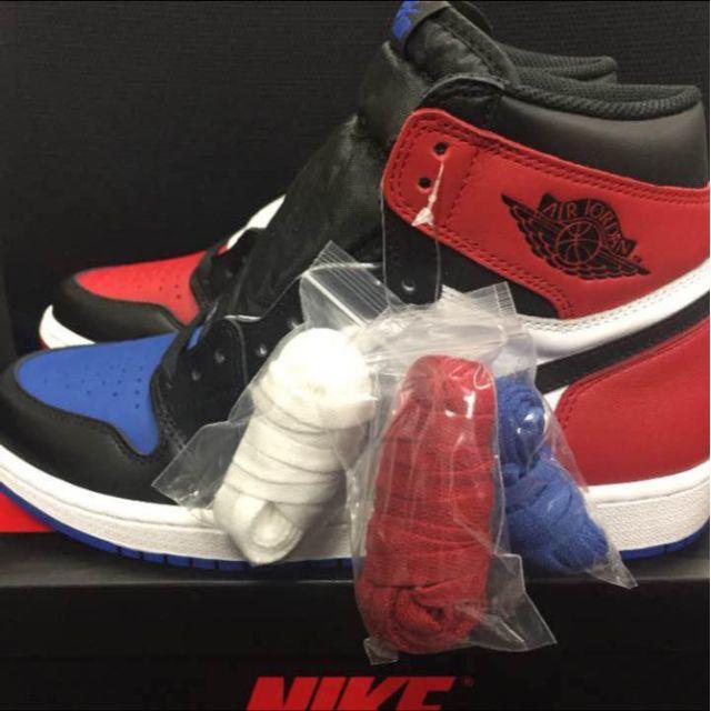 NIKE(ナイキ)の26cm NIKE AIR JORDAN 1 RETRO HIGH OG TOP メンズの靴/シューズ(スニーカー)の商品写真