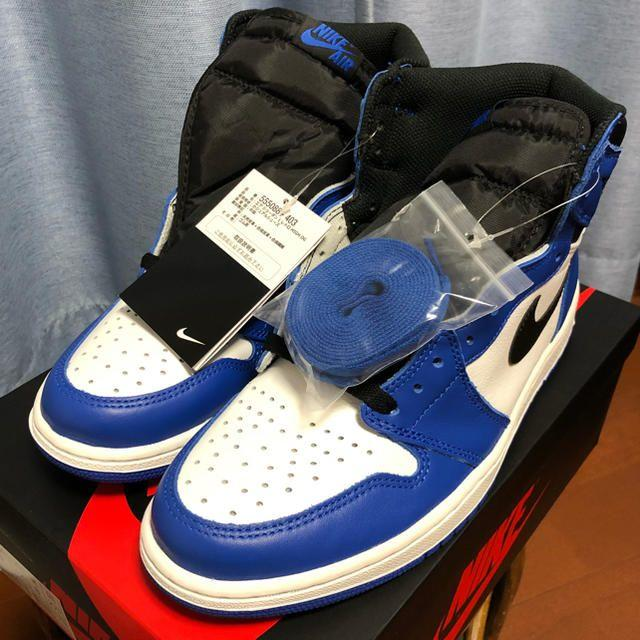 "NIKE(ナイキ)のNIKE AIR JORDAN 1 RETRO HIGH OG  ""GAME R メンズの靴/シューズ(スニーカー)の商品写真"