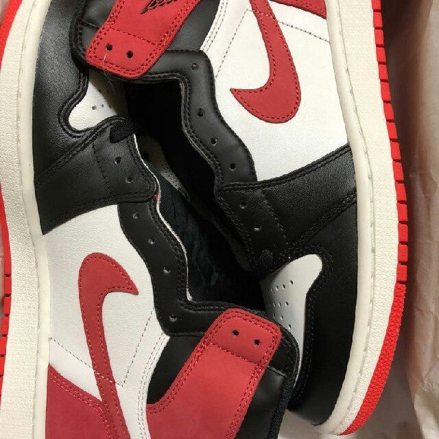 NIKE(ナイキ)のNIKE AIR JORDAN 1 TRACK RED メンズの靴/シューズ(スニーカー)の商品写真