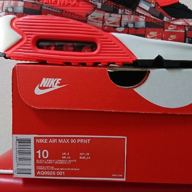 NIKE(ナイキ)のWE LOVE NIKE PACK NIKE AIR MAX 90 PRNT  メンズの靴/シューズ(スニーカー)の商品写真