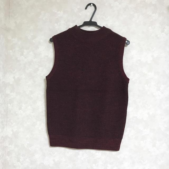 GU(ジーユー)のジーユー ニットベスト レディースのトップス(ニット/セーター)の商品写真