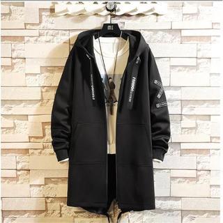 LT252メンズ コート  ジャケット ロング シンプル ジャンパー カジュアル(カバーオール)