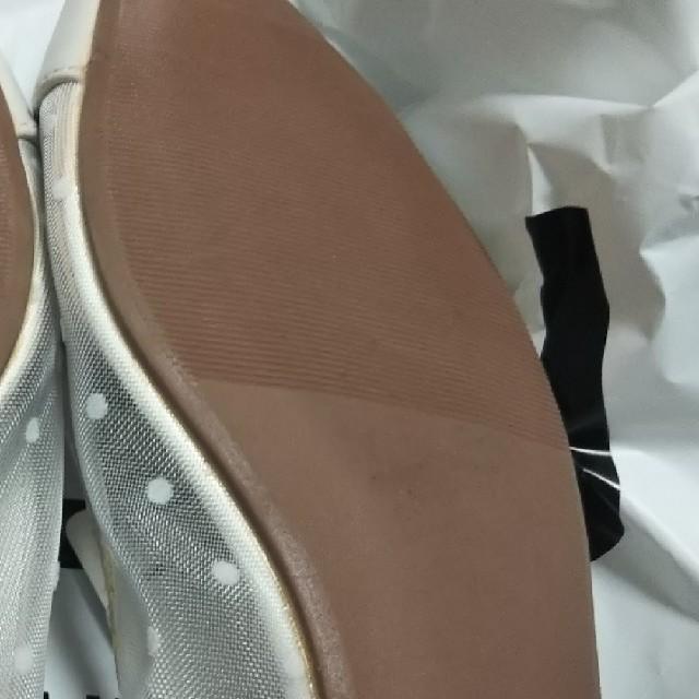 GU(ジーユー)のGU チュールレースフラットシューズ レディースの靴/シューズ(バレエシューズ)の商品写真