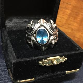 エムズコレクション(M's collection)のM'scollection ブルートパーズ リング(リング(指輪))
