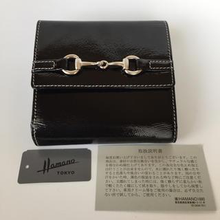 ハマノヒカクコウゲイ(濱野皮革工藝/HAMANO)のHAMANO 濱野 ハマノ エナメル 財布(財布)