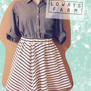 ローリーズファーム(LOWRYS FARM)のローリーズファーム ボーダースカート(ミニスカート)