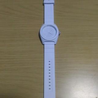 アディダス(adidas)のadidas 腕時計 アディダス ウォッチ ホワイト 白(腕時計(アナログ))