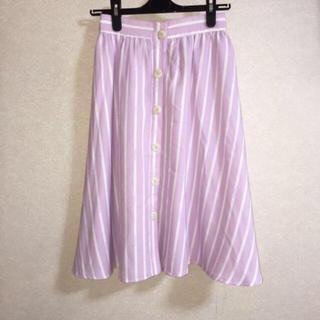 メリージェニー(merry jenny)のmerry jennyストラップスカート(ひざ丈スカート)