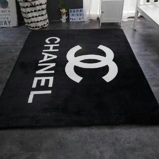 シャネル(CHANEL)の2枚 滑り止め付長方形 丸型 カーペット(カーペット)