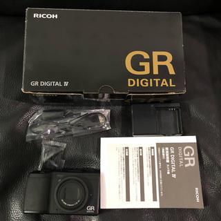 リコー(RICOH)のRicoh digital デジタル GR 4 IV セット(コンパクトデジタルカメラ)