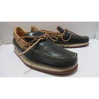 【俺の靴-063】★USED Mauro Volponi 伊太利亜製 デッキ(デッキシューズ)