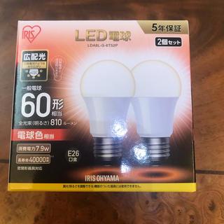 アイリスオーヤマ(アイリスオーヤマ)のアイリスオーヤマ LED電球 E26 60形 2個セット1箱(蛍光灯/電球)