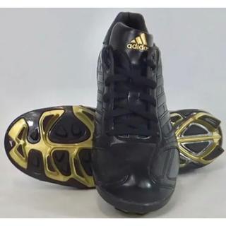 アディダス(adidas)の【新品】 22.5 adidas 野球 スパイク ジュニア(シューズ)