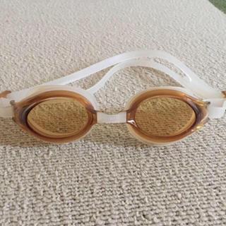 スワンズ(SWANS)の水中眼鏡 ラメロゴワンポイント付き(マリン/スイミング)