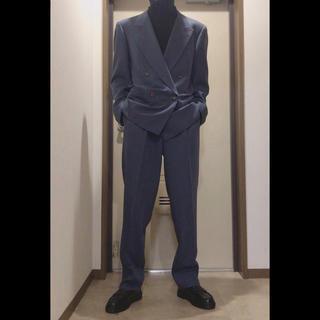 メンズ ダブルスーツ セットアップ  美シルエット(セットアップ)