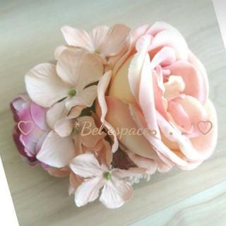 ♡23♡新品 ハンドメイド コサージュ 母の日 お誕生日 お祝い プレゼント(コサージュ/ブローチ)
