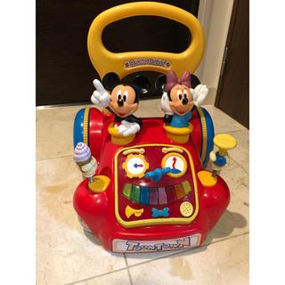 ディズニー(Disney)の引き取り限定 西宮 手押し車 ミッキー あっちこっちウォーカー(手押し車/カタカタ)