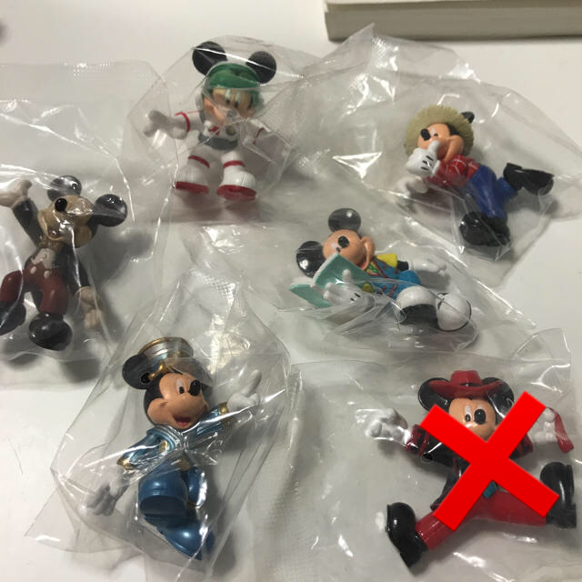 Disney(ディズニー)のディズニー プチフィギュア コレクション 全手話 エンタメ/ホビーのおもちゃ/ぬいぐるみ(キャラクターグッズ)の商品写真