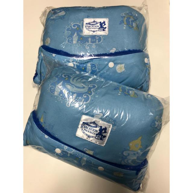 Disney(ディズニー)のディズニー バケパ バケーションパッケージ グッズ フード付きブランケット 新品 エンタメ/ホビーのおもちゃ/ぬいぐるみ(キャラクターグッズ)の商品写真
