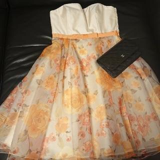 エメ(AIMER)の春夏★AIMERドレス ワンピース お直しS 定価3万円以上(ミディアムドレス)