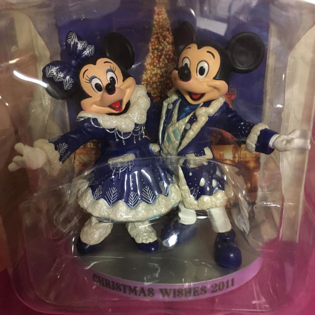 Disney(ディズニー)のミッキー ミニー 実写 フィギュアリン セット エンタメ/ホビーのおもちゃ/ぬいぐるみ(キャラクターグッズ)の商品写真