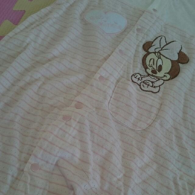 Disney(ディズニー)のディズニーベビー ロンパース 甚平 肌着 セット キッズ/ベビー/マタニティのベビー服(~85cm)(ロンパース)の商品写真