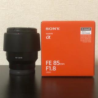 ソニー(SONY)のsony α sel85f18 FE85mm F1.8(レンズ(単焦点))