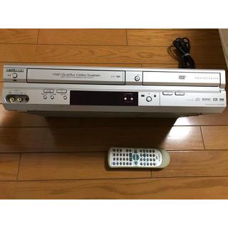 ミツビシデンキ(三菱電機)のDVDプレイヤー 一体型ビデオ(DVDプレーヤー)
