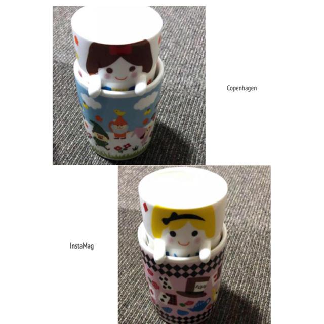 Disney(ディズニー)の不思議の国のアリス&白雪姫  マグカップ  4個セット インテリア/住まい/日用品のキッチン/食器(グラス/カップ)の商品写真