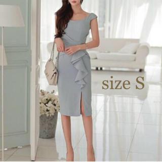 SALE❤︎ワンピース ドレス【size S】(ミディアムドレス)